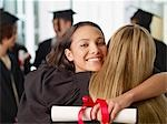 Graduates hugging Stock Photo - Premium Royalty-Freenull, Code: 635-03228761