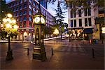 Steam Clock in Gastown, Vancouver, British Columbia, Canada Stock Photo - Premium Rights-Managed, Artist: Ron Fehling, Code: 700-03229746