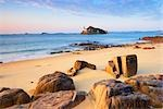 Beach, Morlaix Bay, Finistere, Brittany, France Stock Photo - Premium Rights-Managed, Artist: Tim Hurst, Code: 700-03230029