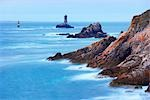 Rocky Coastline, Pointe du Raz, Finistere, Brittany, France Stock Photo - Premium Rights-Managed, Artist: Tim Hurst, Code: 700-03230031