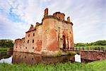 Ruin of Caerlaverock Castle, Dumfries & Galloway, Scotland Stock Photo - Premium Rights-Managed, Artist: Tim Hurst, Code: 700-03230044