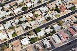 Overview of Houses, Las Vegas, Nevada, USA