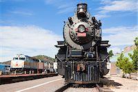steam engine - Historic Steam Train, Grand Canyon Railroad, Williams, Arizona, USA Stock Photo - Premium Rights-Managednull, Code: 700-03230050