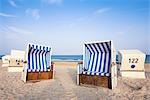 Wicker Beach Chairs, Sylt, Schleswig-Holstein, Germany Stock Photo - Premium Rights-Managed, Artist: F. Lukasseck, Code: 700-03230067