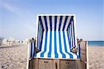 Wicker Beach Chair, Sylt, Schleswig-Holstein, Germany Stock Photo - Premium Rights-Managed, Artist: F. Lukasseck, Code: 700-03230069