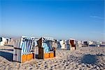 Wicker Beach Chairs, Sankt Peter-Ording, Schleswig-Holstein, Germany Stock Photo - Premium Rights-Managed, Artist: F. Lukasseck, Code: 700-03230077