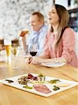 Close-up of Appetizer at Wine Bar, Toronto, Ontario, Canada Stock Photo - Premium Royalty-Free, Artist: Matthew Plexman, Code: 600-03230249