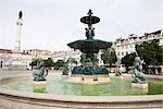 Fountain in Rossio Square, Lisbon, Portugal Stock Photo - Premium Rights-Managed, Artist: Arian Camilleri, Code: 700-03230213