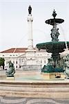 Fountain in Rossio Square, Lisbon, Portugal Stock Photo - Premium Rights-Managed, Artist: Arian Camilleri, Code: 700-03230214