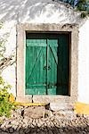 Wooden Door, Obidos, Portugal Stock Photo - Premium Rights-Managed, Artist: Arian Camilleri, Code: 700-03230227