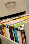 Close-up of Files in Filing Cabinet Stock Photo - Premium Royalty-Free, Artist: Amy Whitt, Code: 600-03230350
