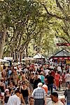 La Rambla, Barcelona, Catalunya, Spain Stock Photo - Premium Rights-Managed, Artist: Mike Randolph, Code: 700-03230336