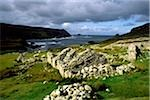 Ruins of a building on the coast, Co. Donegal, Ireland Stock Photo - Premium Rights-Managed, Artist: IIC, Code: 832-03232137