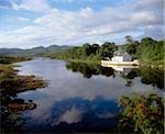 Lackagh River, Creeslough, County Donegal, Ireland; Reflection of a house in a river Stock Photo - Premium Rights-Managed, Artist: IIC, Code: 832-03232786