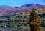 Bluestack Mountains, Lough Eske, County Donegal, Ireland; Lake and mountain scenic Stock Photo - Premium Rights-Managed, Artist: IIC, Code: 832-03232871