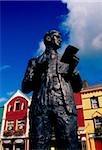 Statue of Sam Maguire, Dunmanway, County Cork, Ireland