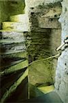 Kings John's Castle, County Limerick, Ireland; Stone spiral staircase in castle Stock Photo - Premium Rights-Managed, Artist: IIC, Code: 832-03233098
