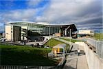 Belfast, County Antrim, Ireland; Airport exterior Stock Photo - Premium Rights-Managed, Artist: IIC, Code: 832-03233345