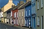 Dingle,Co Kerry,Ireland;Exterior view of terraced houses and shops Stock Photo - Premium Rights-Managed, Artist: IIC, Code: 832-03233603