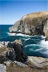 Horn Head, Co Donegal, Ireland;  Marble Arch and cliffs on the Atlantic Ocean Stock Photo - Premium Rights-Managed, Artist: IIC, Code: 832-03233658