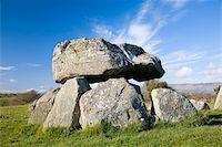 prehistoric - Carrowmore, Co Sligo, Ireland;  Megalithic tomb at a prehistoric ritual landscape Stock Photo - Premium Rights-Managednull, Code: 832-03233694