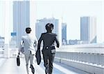 Businessmen running Stock Photo - Premium Royalty-Free, Artist: Kablonk! RM, Code: 670-03234425
