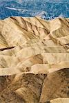 Zabriskie Point, Badlands, Death Valley National Park, California, USA