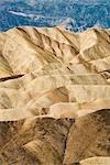 Zabriskie Point, Badlands, Death Valley National Park, California, USA