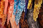 Close up of a baju kebaya, traditional Malay dress for woman.