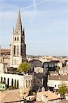 Monolithic Church, Saint Emilion, Gironde, Aquitaine, France Stock Photo - Premium Rights-Managed, Artist: Patrick Chatelain, Code: 700-03243835
