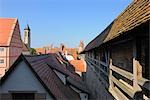 Battlement, Rothenburg ob der Tauber, Ansbach District, Bavaria, Germany Stock Photo - Premium Rights-Managed, Artist: Raimund Linke, Code: 700-03243911