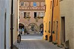 Historic Center, Rothenburg ob der Tauber, Ansbach District, Bavaria, Germany Stock Photo - Premium Rights-Managed, Artist: Raimund Linke, Code: 700-03243928