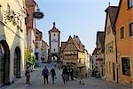 Siebers Tower, Rothenburg ob der Tauber, Ansbach District, Bavaria, Germany