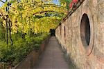 Pathway from Johannisburg Castle to the Pompejanum, Aschaffenburg, Bavaria, Germany Stock Photo - Premium Rights-Managed, Artist: Raimund Linke, Code: 700-03243983