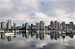 Downtown Vancouver and False Creek, British Columbia, Canada Stock Photo - Premium Rights-Managed, Artist: Jochen Schlenker, Code: 700-03244179