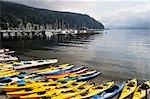 Canoes and Kayaks at Deep Cove, North Vancouver, British Columbia, Canada Stock Photo - Premium Rights-Managed, Artist: Jochen Schlenker, Code: 700-03244180