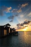 Sunrise at Soneva Gili Resort, Lankanfushi Island, North Male Atoll, Maldives Stock Photo - Premium Rights-Managed, Artist: R. Ian Lloyd, Code: 700-03244235