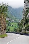 Mountain Road, Picos de Europa, Asturias, Spain Stock Photo - Premium Royalty-Free, Artist: Mike Randolph, Code: 600-03244411