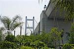 View of Tsing Ma Bridge from Noah's Ark, Ma Wan, Hong Kong Stock Photo - Premium Rights-Managed, Artist: Oriental Touch, Code: 855-03252769