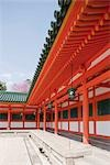 Corridor, Heian-jingu shrine, Kyoto, Japan Stock Photo - Premium Rights-Managed, Artist: Oriental Touch, Code: 855-03253099