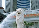 The Merlion, Singapore Stock Photo - Premium Rights-Managed, Artist: Oriental Touch, Code: 855-03253803