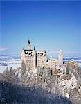 Royal castle, Neuschwanstein, Bavaria, Germany Stock Photo - Premium Rights-Managed, Artist: Oriental Touch, Code: 855-03254846