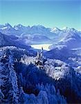Royal castle, Neuschwanstein, Bavaria, Germany Stock Photo - Premium Rights-Managed, Artist: Oriental Touch, Code: 855-03254849