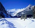Lake Louise, Banff National Park, Canada Stock Photo - Premium Rights-Managed, Artist: Oriental Touch, Code: 855-03254899