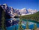 Moraine Lake, Banff National Park, Canada Stock Photo - Premium Rights-Managed, Artist: Oriental Touch, Code: 855-03254996