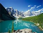 Moraine Lake, Banff National Park, Canada Stock Photo - Premium Rights-Managed, Artist: Oriental Touch, Code: 855-03255004