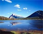 Vermillion Lake and Mount Rundle. Banff National Park. Alberta, Canada Stock Photo - Premium Rights-Managed, Artist: Oriental Touch, Code: 855-03255034