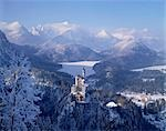 Royal castle, Neuschwanstein, Bavaria, Germany Stock Photo - Premium Rights-Managed, Artist: Oriental Touch, Code: 855-03255137