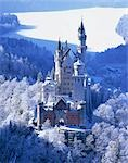 Royal castle, Neuschwanstein, Bavaria, Germany Stock Photo - Premium Rights-Managed, Artist: Oriental Touch, Code: 855-03255138