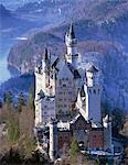 Royal castle, Neuschwanstein, Bavaria, Germany Stock Photo - Premium Rights-Managed, Artist: Oriental Touch, Code: 855-03255139